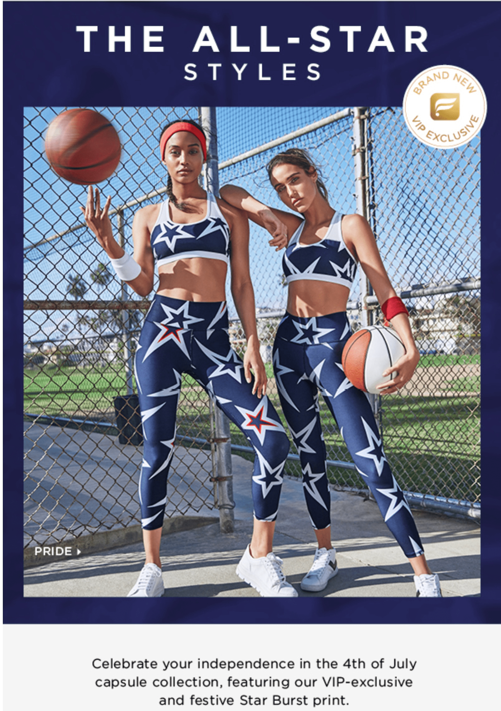 Fabletics 4th of July Limited Edition Collection Available Now!
