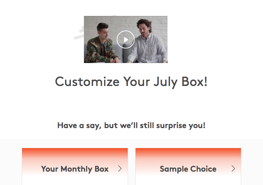 July 2017 Birchbox Man Sample Selection Time + Coupon!