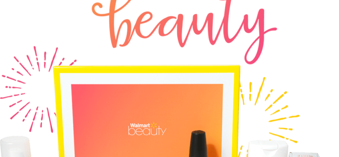 Walmart Beauty Box – Summer 2017 Box Available Now!