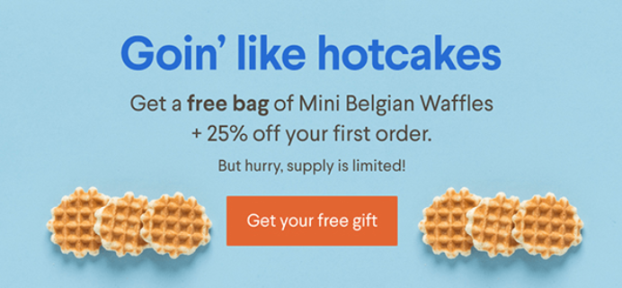 Naturebox Deal: Save 25% + Free Peanut Butter Pretzels!