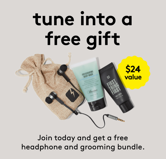 Birchbox Man Coupon: Free Headphone + Grooming Bundle With Subscription!
