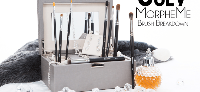 MorpheMe August 2017 Brush Club Spoilers + Coupon!