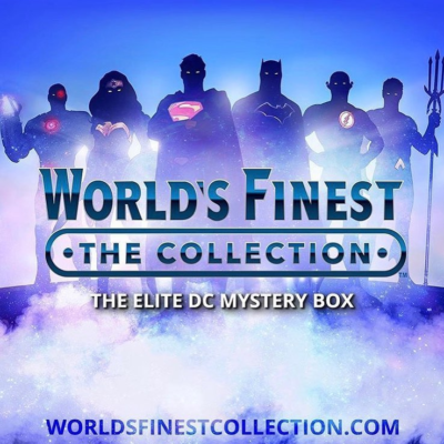 DC Comics World's Finest RETRO JUSTICE LEAGUE Summer Box 20% Off Coupon!