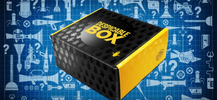 New Despicable Me Subscription Box – The Despicable Box!