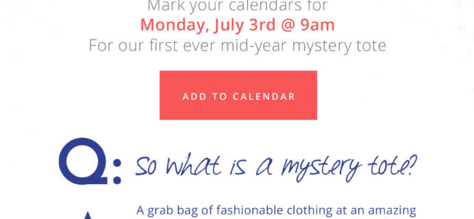 Golden Tote Mystery Totes Available Now!
