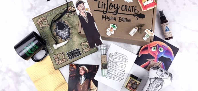 LitJoy Crate Magical Edition Volume 2 Limited Edition Box Review