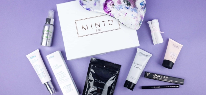 MINTD Box June 2017 Subscription Box Review + Coupon!