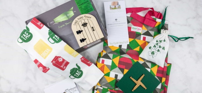 My Ireland Box June 2017 Subscription Box Review