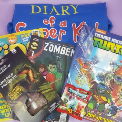 Nerd Block Jr. Boys Subscription Box Review & Coupon – May 2017
