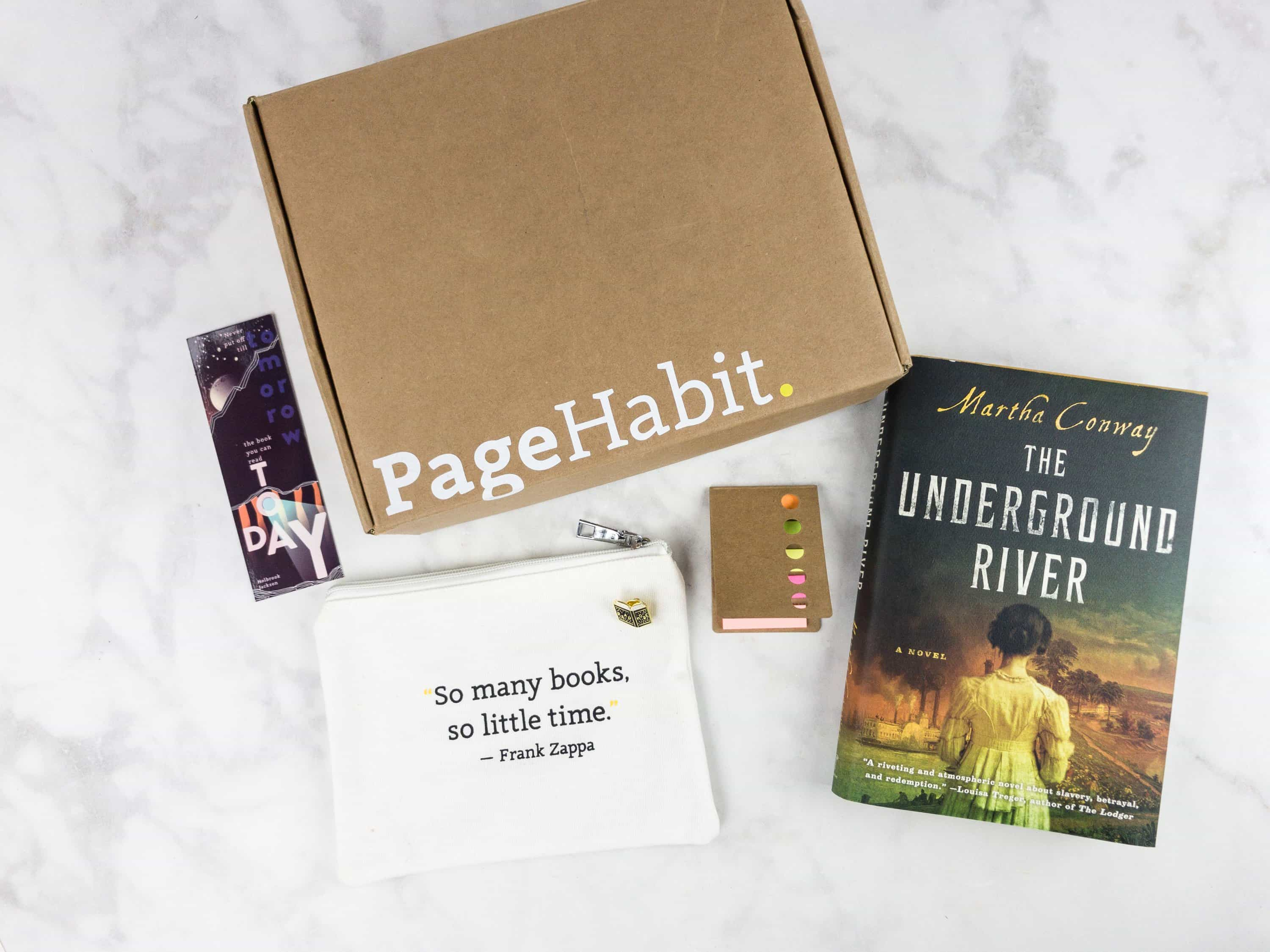 PageHabit June 2017 Subscription Box Review + Coupon – Historical Fiction