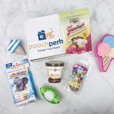 Pooch Perks July 2017 Subscription Box Review + Coupon!