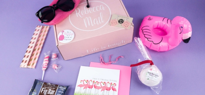 Rebecca Mail June 2017 Subscription Box Review