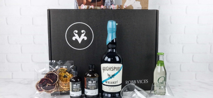 Robb Vices June 2017 Subscription Box Review + Coupon