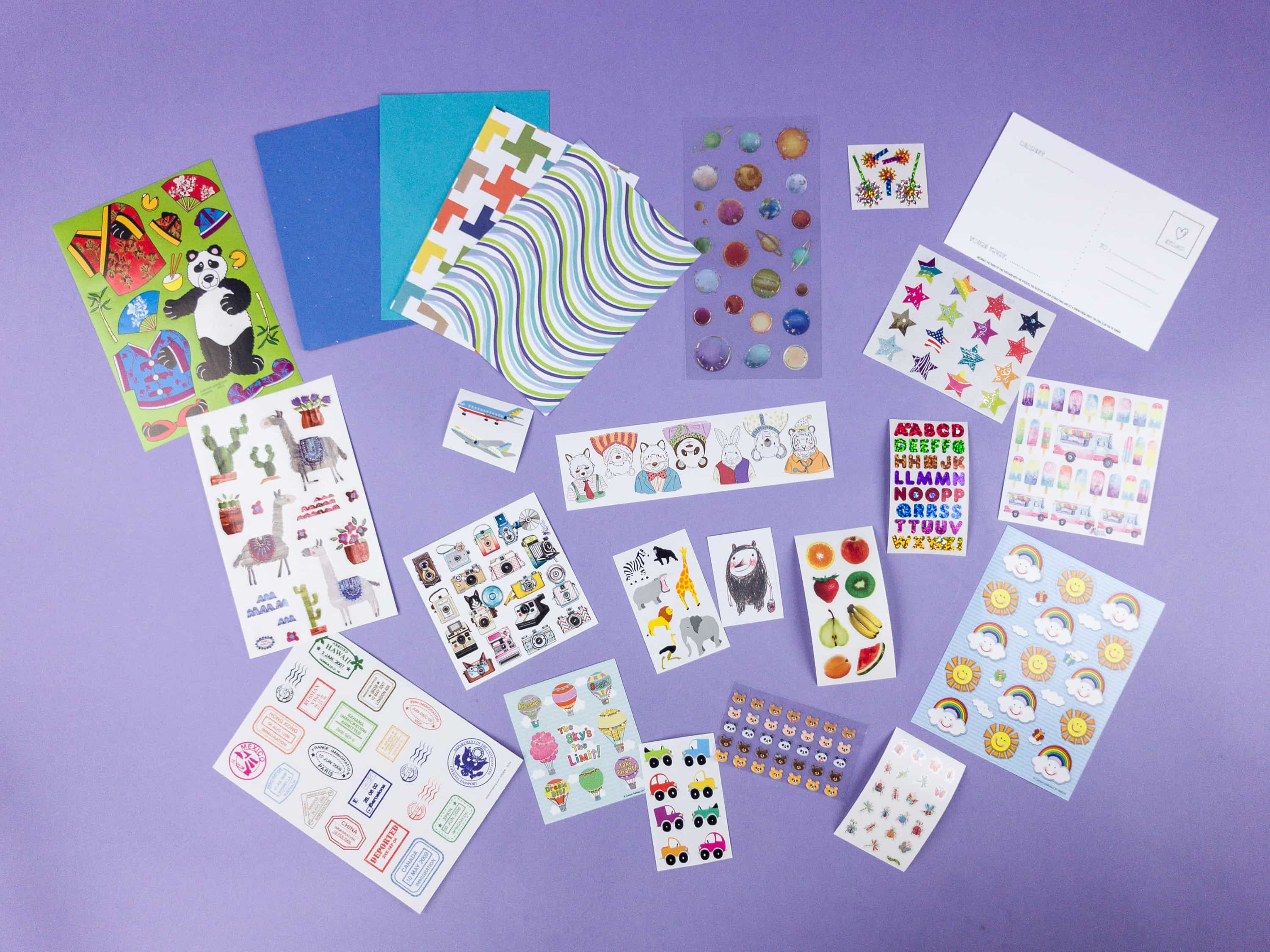 Stickermom June 2017 Subscription Box Review + Coupon