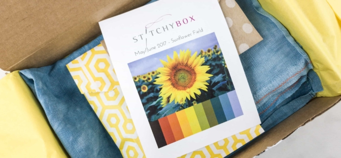 Stitchy Box May-June 2017 Subscription Box Review