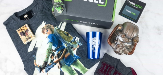 ThinkGeek Capsule June 2017 Subscription Box Review