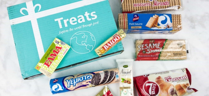Treats Box June 2017 Review & Coupon – GREECE!