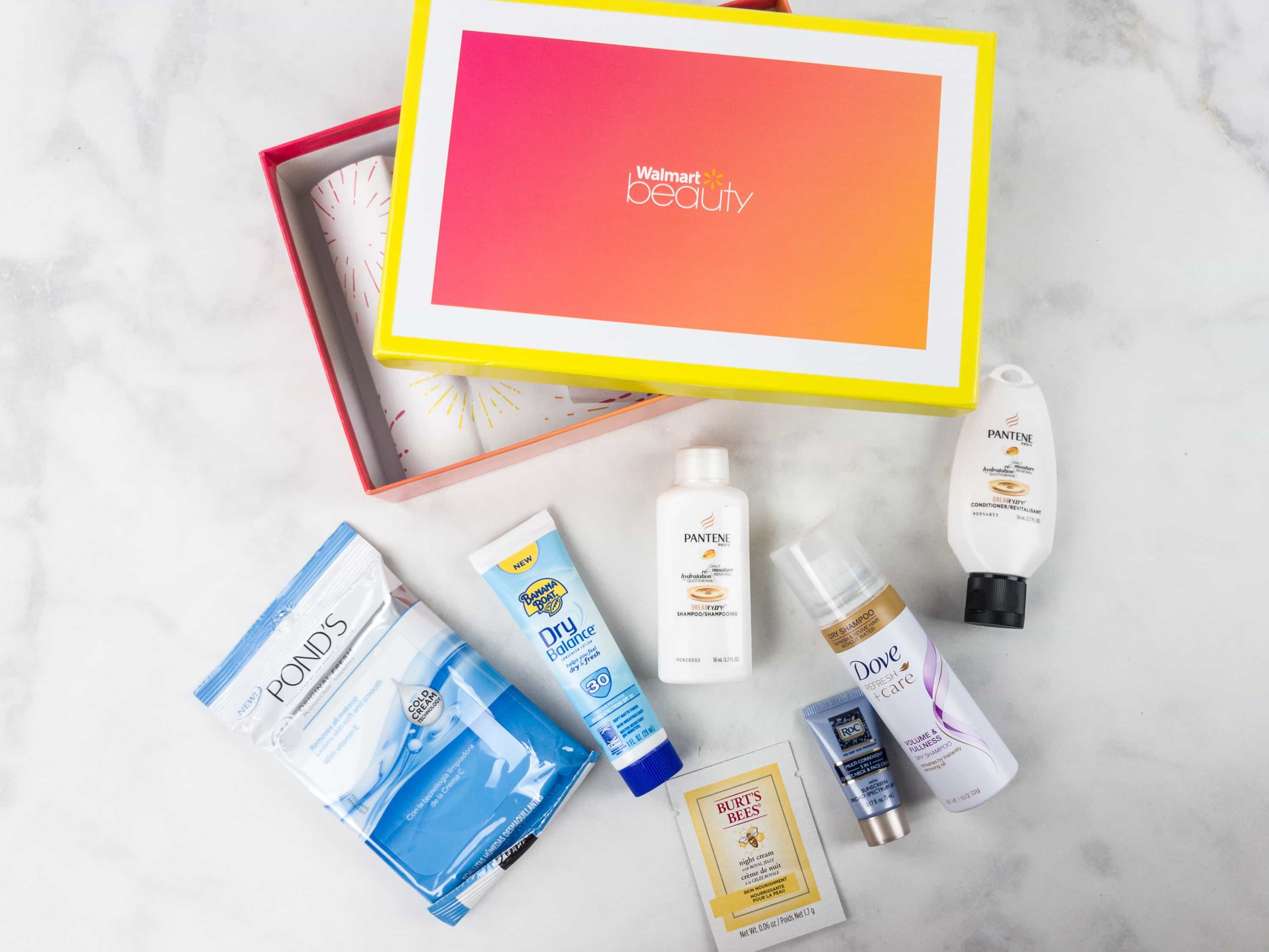 Walmart Beauty Box Summer 2017 Review – Classic Box