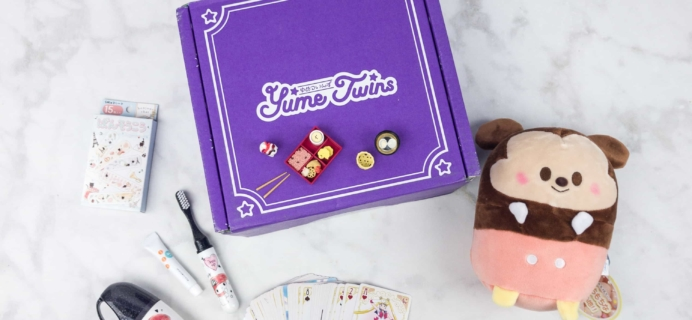 YumeTwins July 2017 Subscription Box Review + Coupon