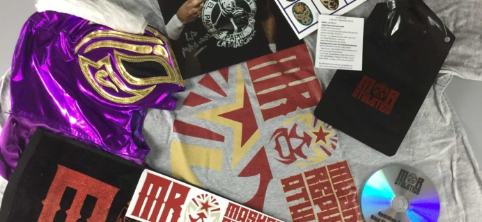 Lucha Loot Subscription Box Review & Coupon – June 2017