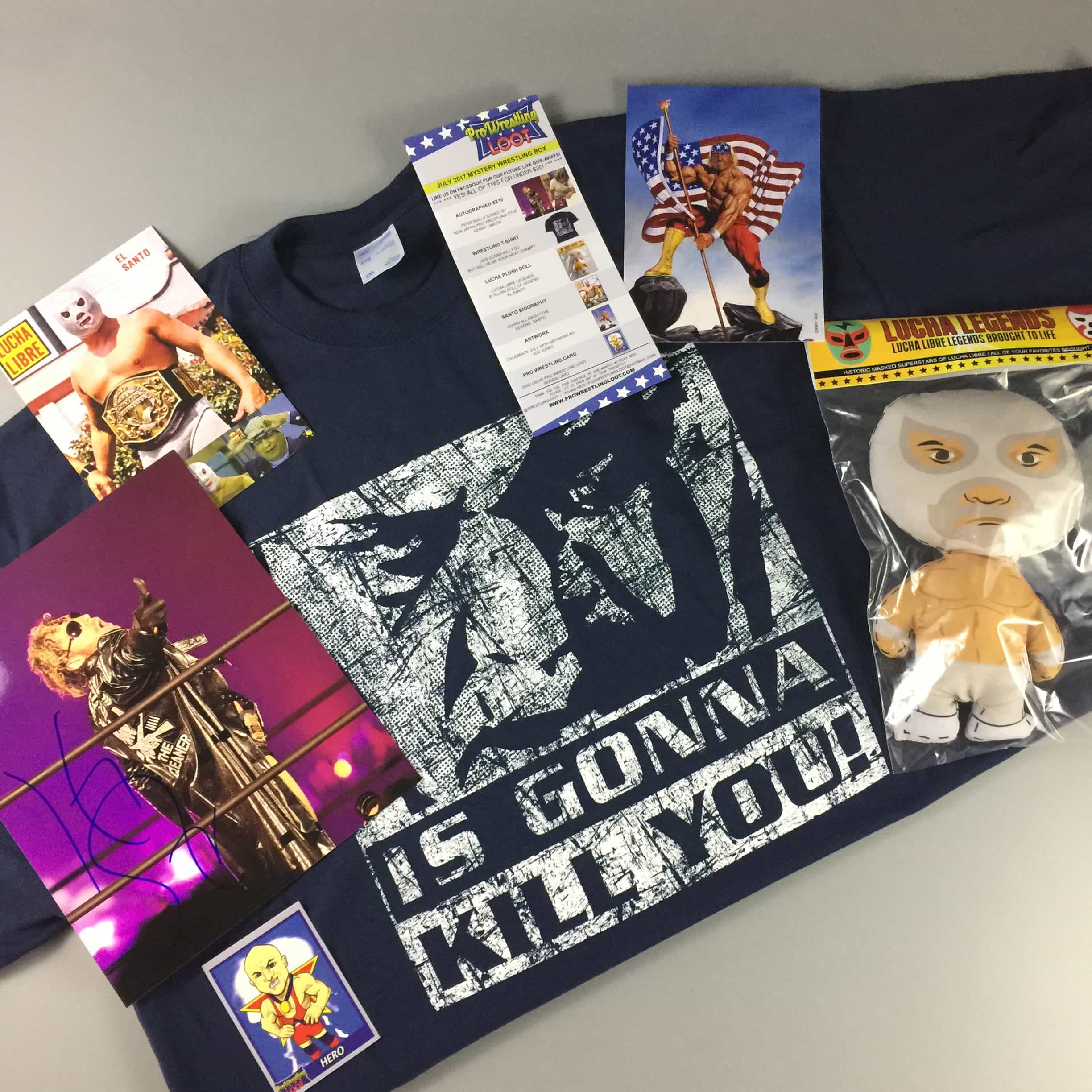 Pro Wrestling Loot July 2017 Subscription Box Review + Coupon