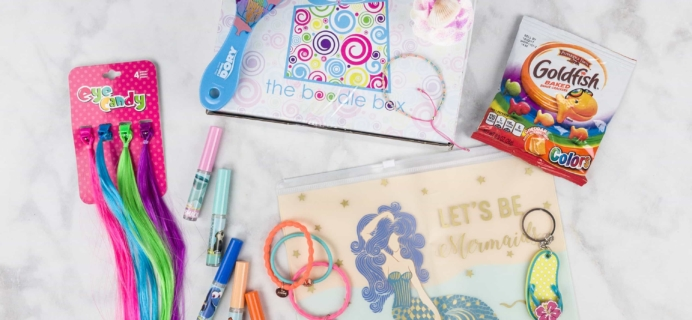 Boodle Box August 2017 Subscription Box Review – Tweens