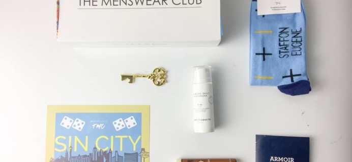The Menswear Club May 2017 Subscription Box Review + Coupon