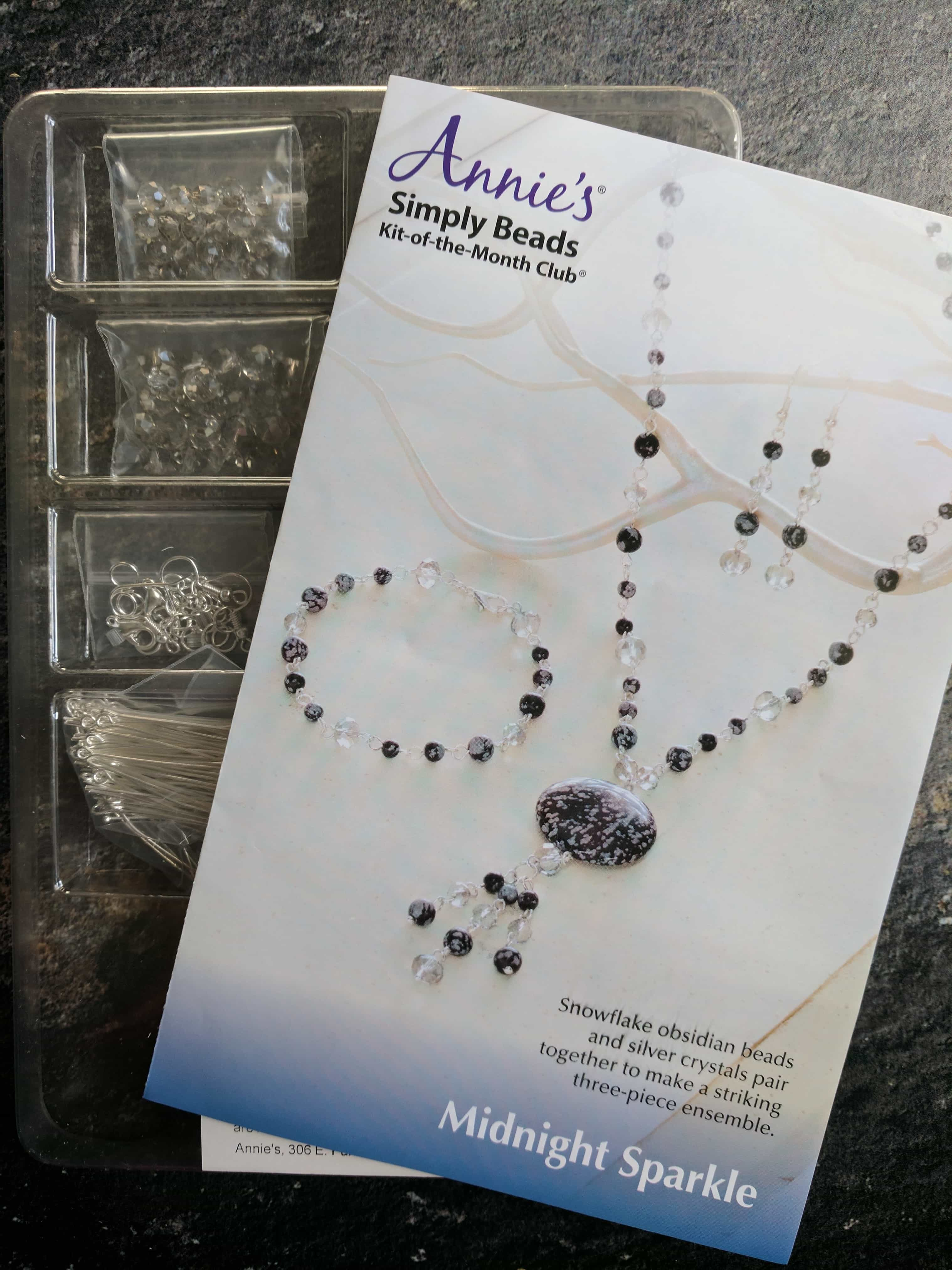 Annie's Simply Beads Kit-of-the-Month Club Subscription Box Review – May 2017