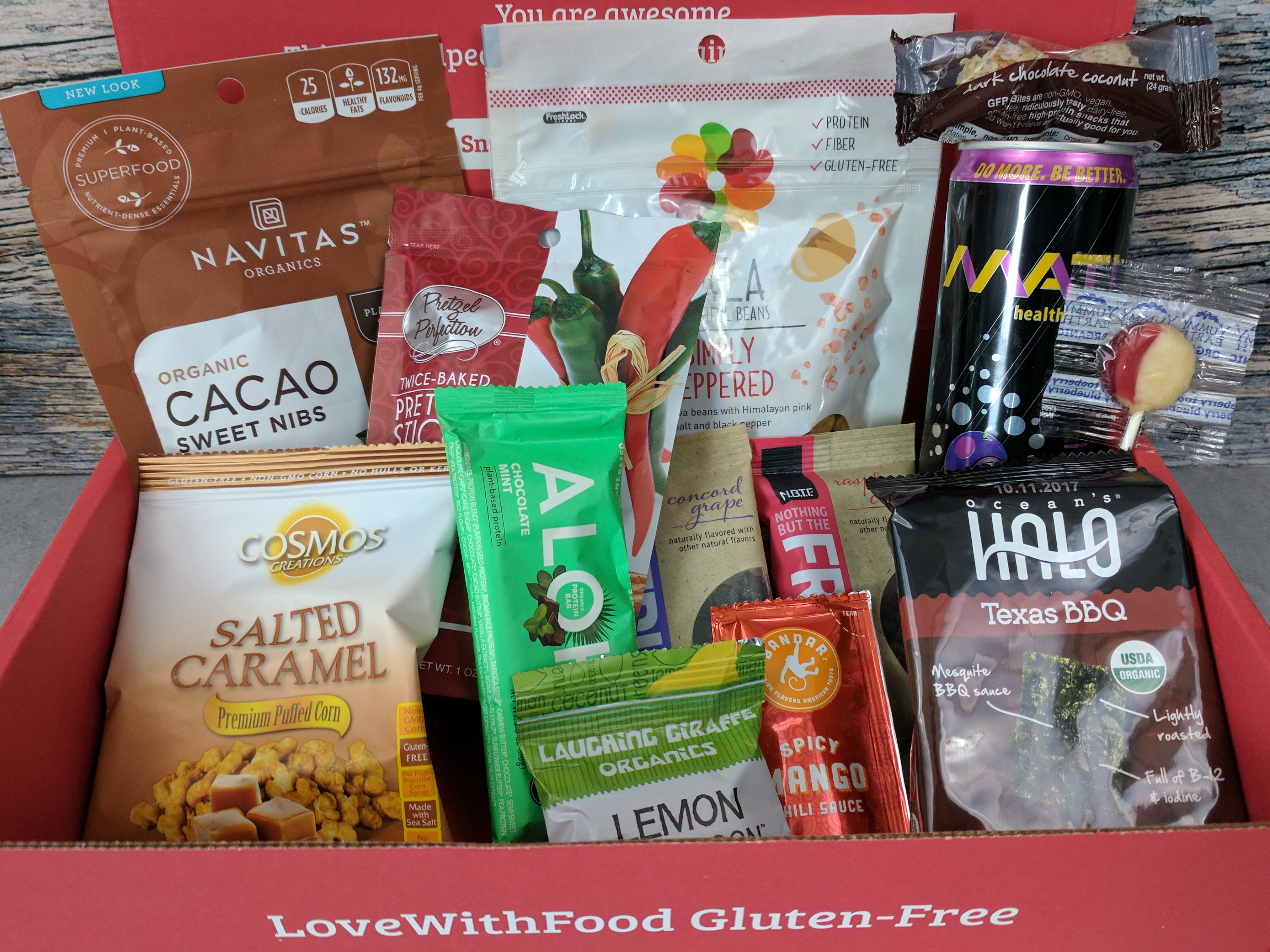 Love With Food Gluten-Free July 2017 Subscription Box Review + Coupon