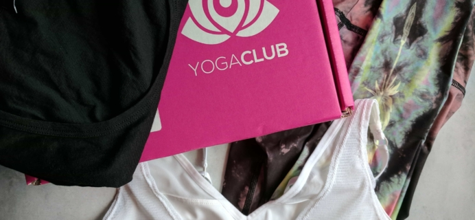 YogaClub Subscription Box Review + Coupon – July 2017