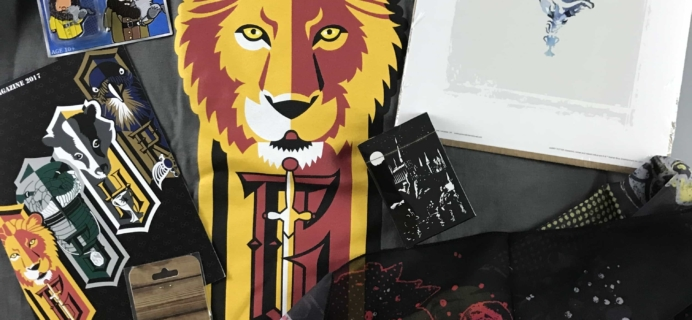 Geek Gear World of Wizardry June 2017 Subscription Box Review