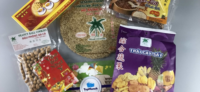 TopMunch July 2017 Subscription Box Review + Coupon – Vietnam