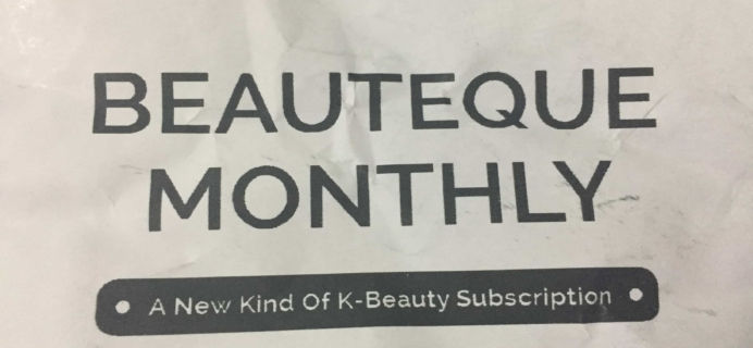 Beauteque Mask Maven June 2017 Subscription Box Review + Coupon