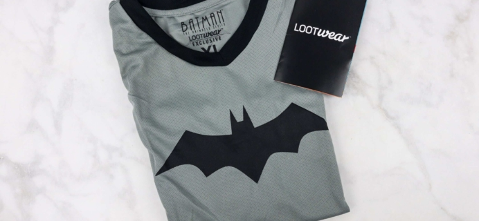 Loot Wearables Subscription by Loot Crate July 2017 Review & Coupon
