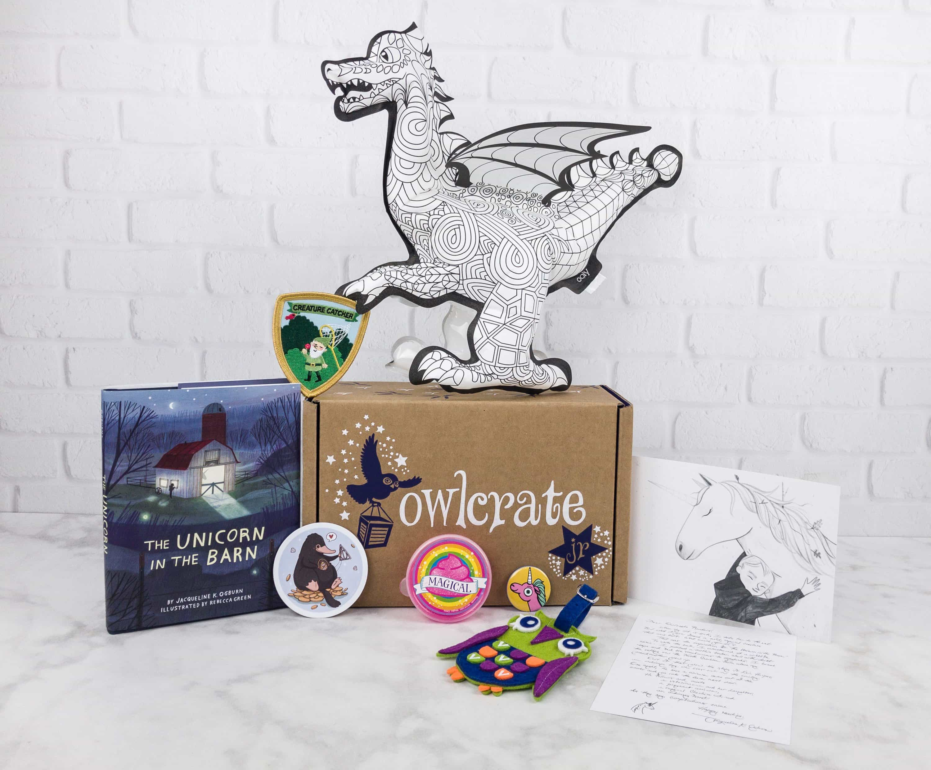 OwlCrate Jr. July 2017 Box Review + Coupon