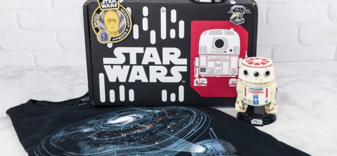 Smuggler's Bounty July 2017 Subscription Box Review – DROIDS!