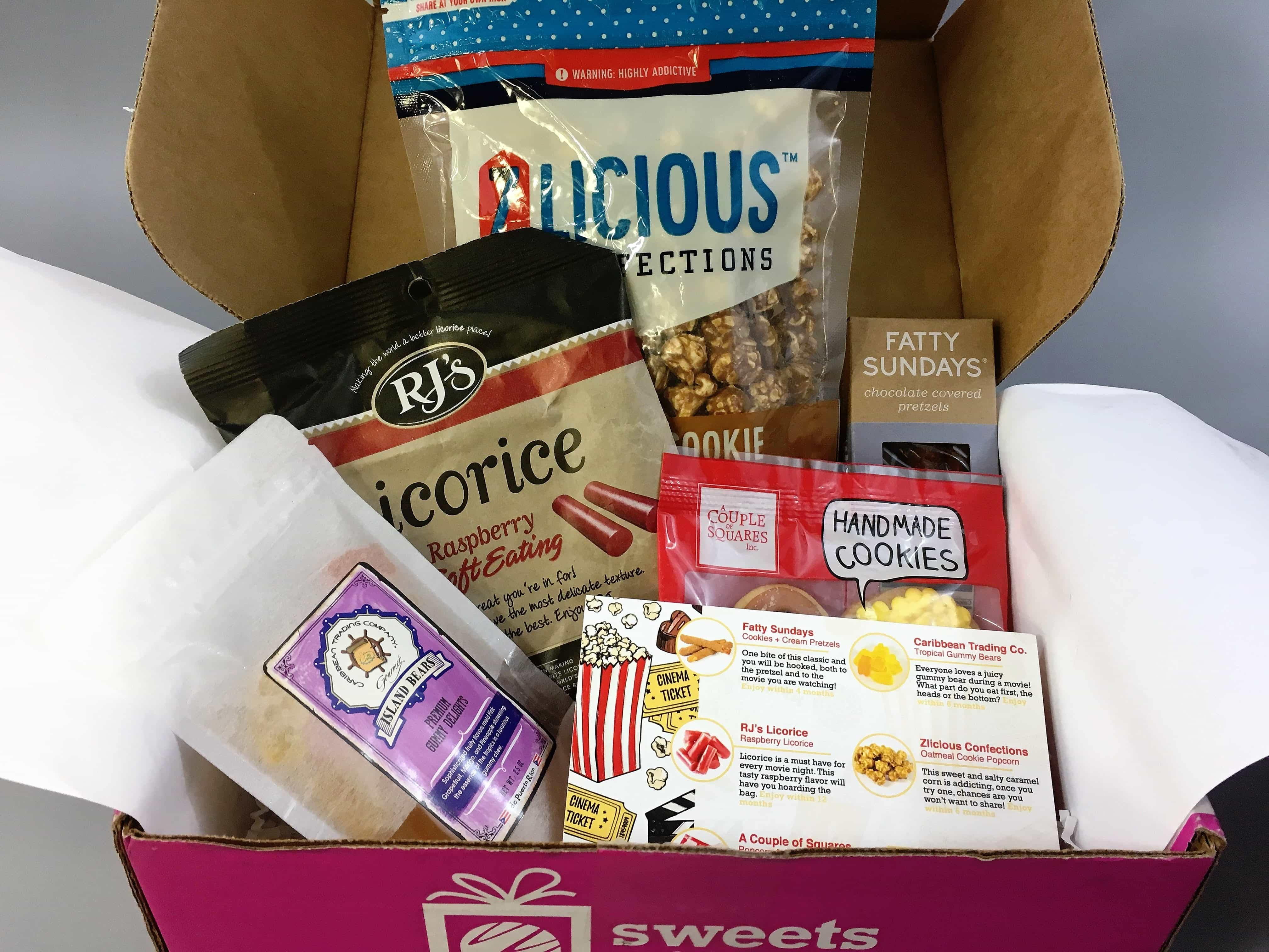 Sweets Gift Box June 2017 Subscription Box Review