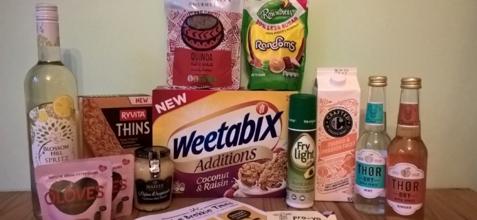 DegustaBox UK July 2017 Subscription Box Review