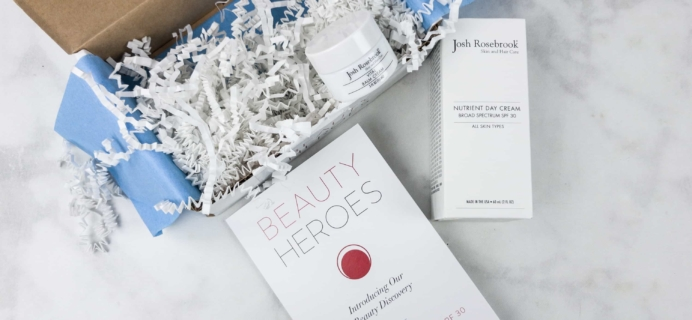 Beauty Heroes July 2017 Subscription Box Review