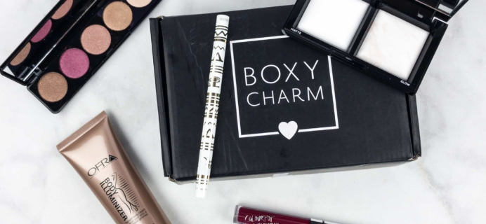 BOXYCHARM July 2017 Subscription Box Review