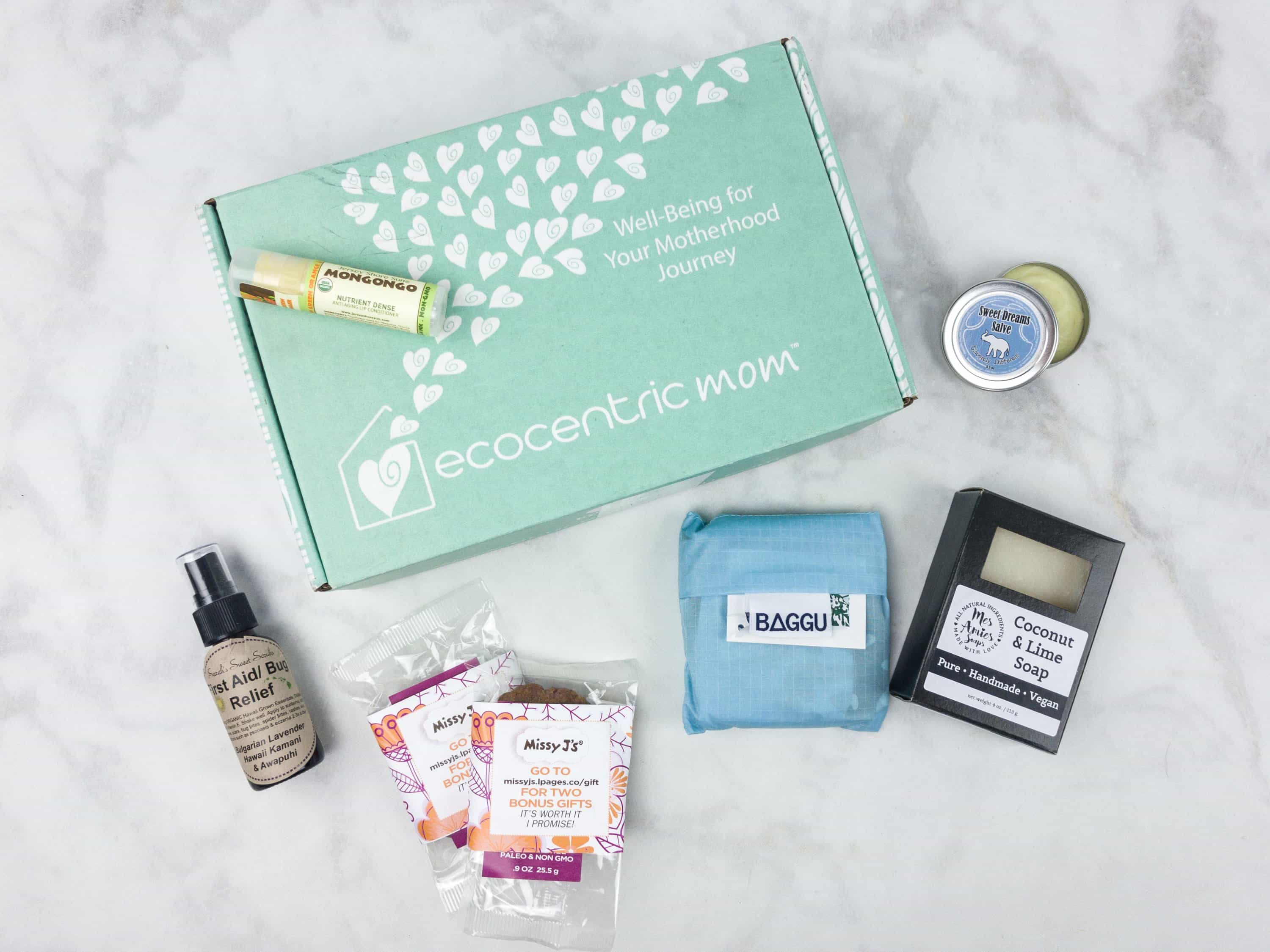 Ecocentric Mom July 2017 Subscription Box Review + Coupon