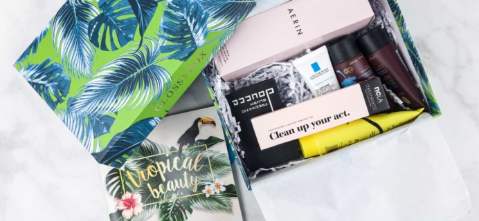 July 2017 GLOSSYBOX Subscription Box Review + Coupons!
