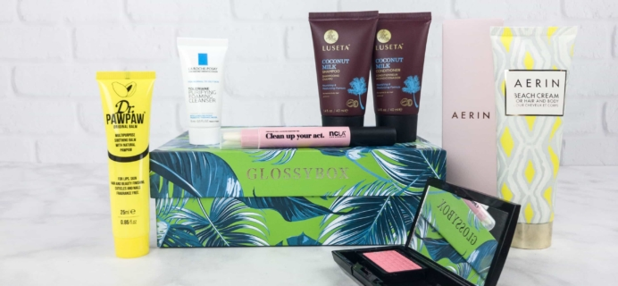 July 2017 GLOSSYBOX Giveaway!