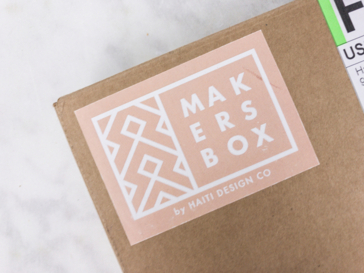 Haiti Design Co Maker S Box Is Your Chance To Connect With Talented Haitian For 59 Per You Can Purchase An Individual Filled