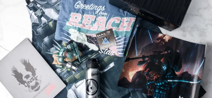 Halo Legendary Crate June 2017 Subscription Box Review + Coupon