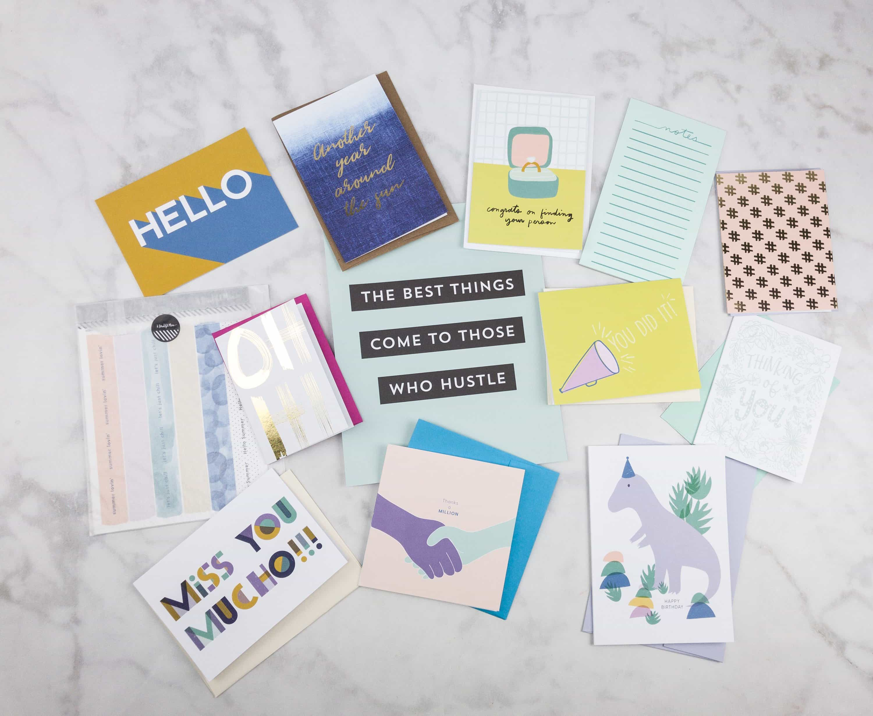Happy Mail July 2017 Subscription Box Review