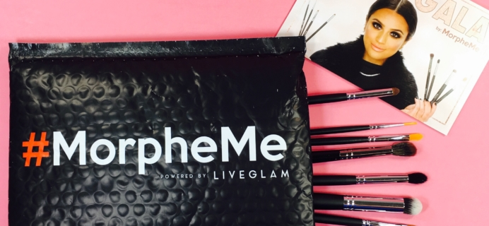 MorpheMe Brush Club July 2017 Subscription Box Review + Free Brush Coupon!