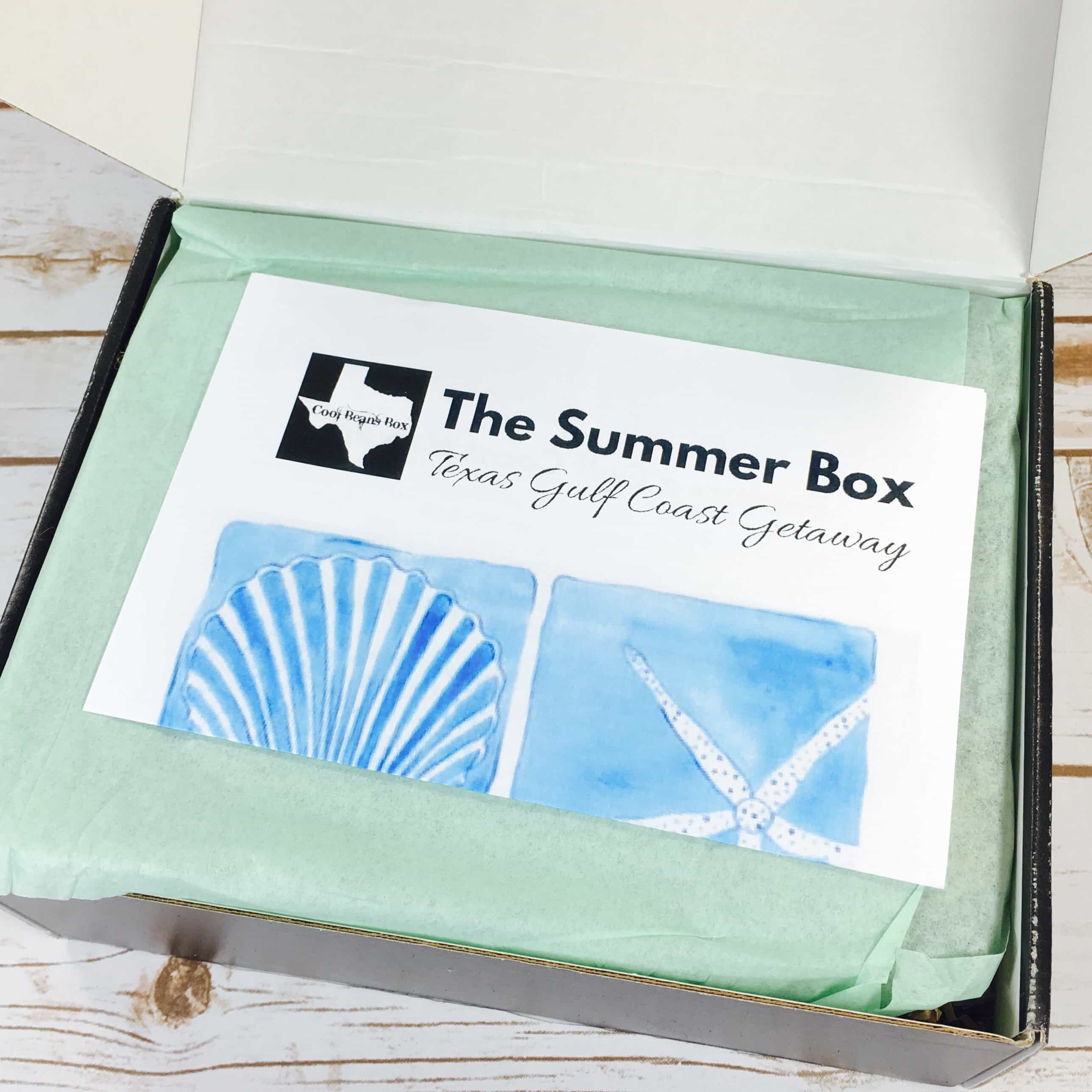 Cool Beans Box Quarterly Market Club Subscription Box Review –  Summer 2017