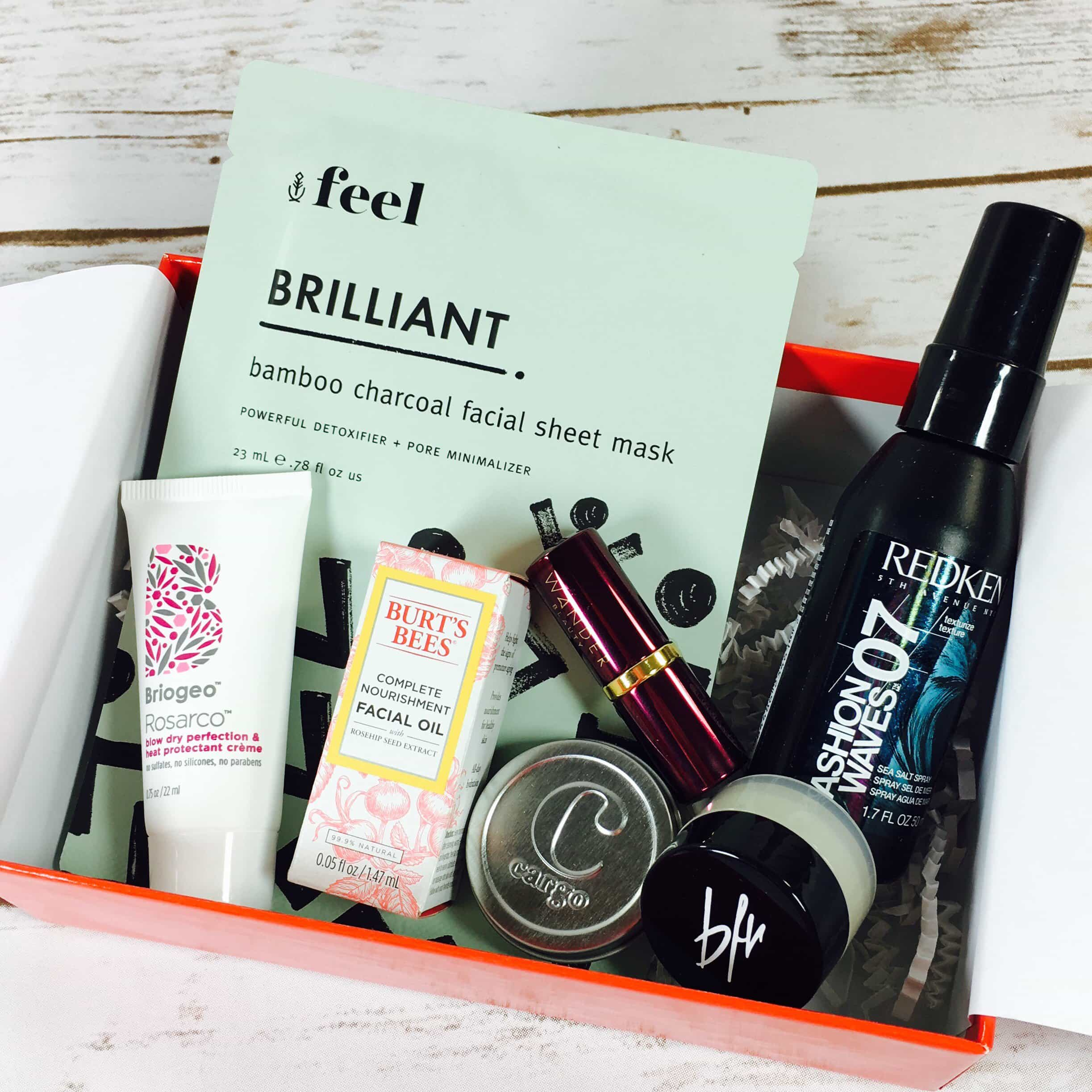 Allure Beauty Box July 2017 Subscription Box Review & Coupon