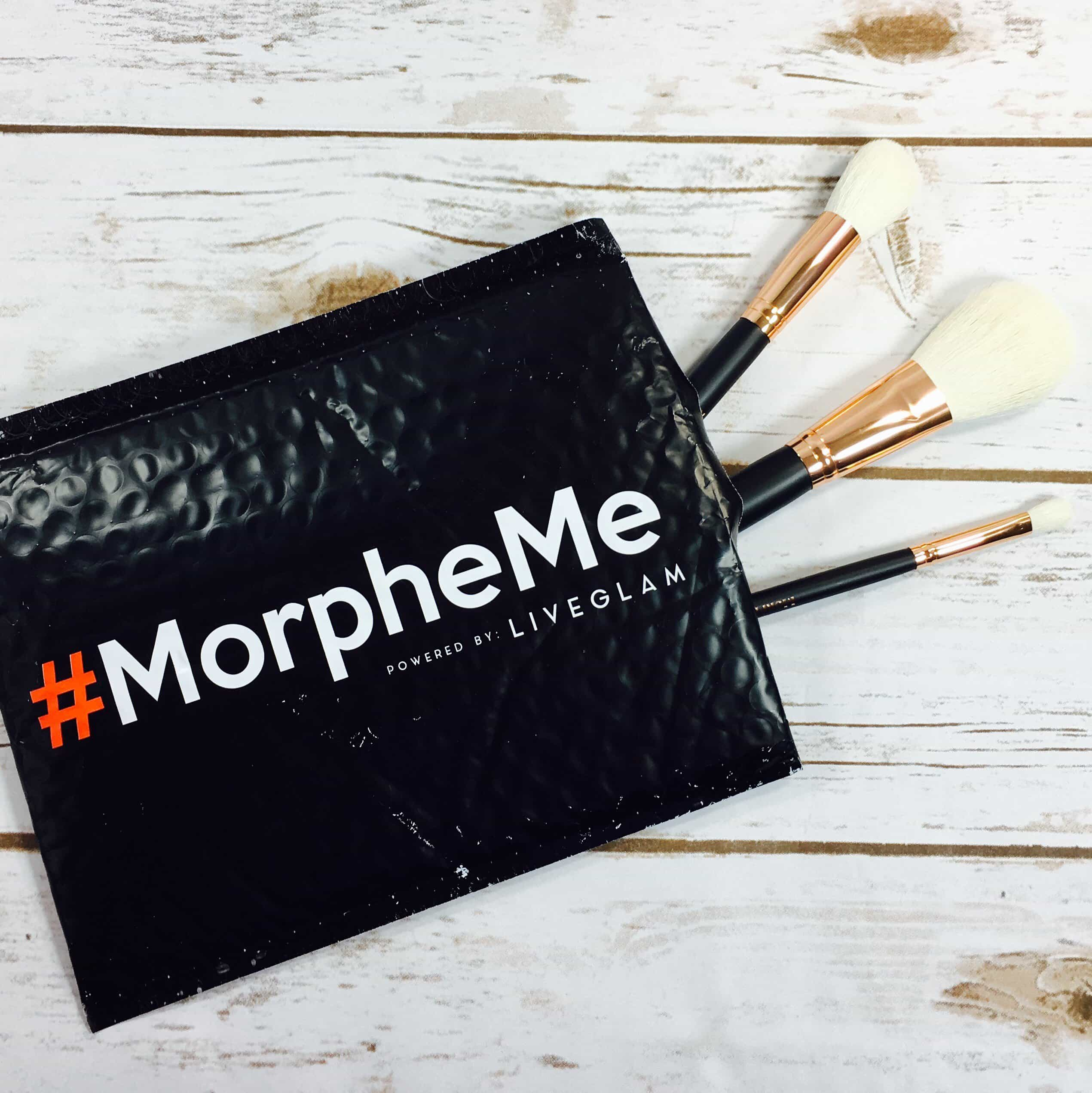 MorpheMe Brush Club August 2017 Subscription Box Review + Free Brush Coupon!
